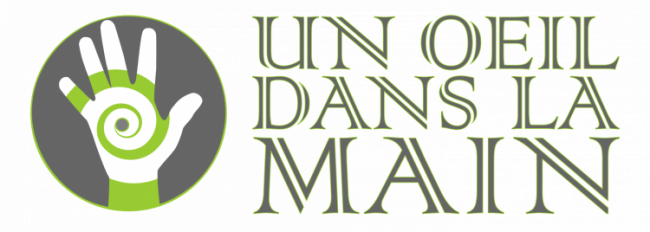 Un oeil dans la main Logo